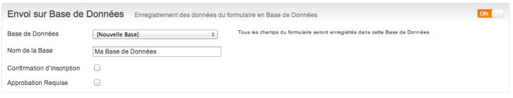 formBaseDonnees