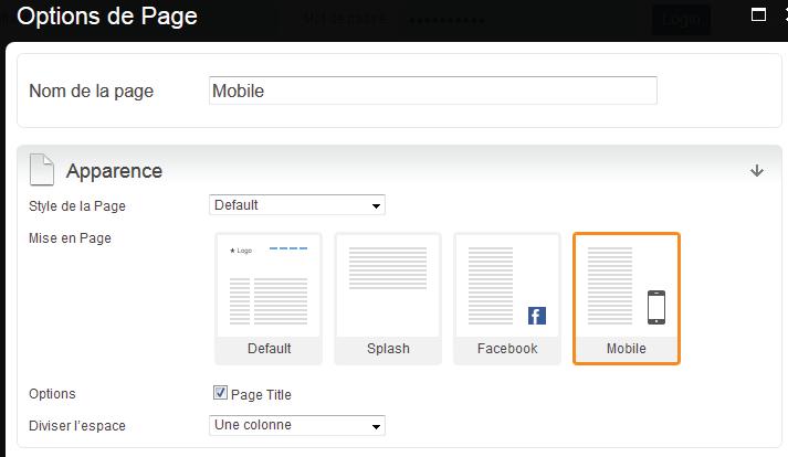 option-de-page